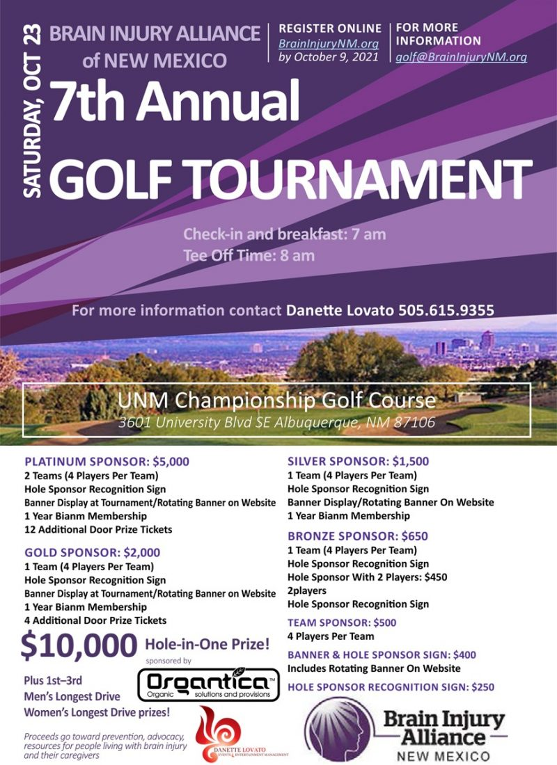 bianm golf 2021 poster